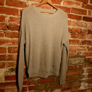 Hollister Oversized Scoop Neck Knit Sweater